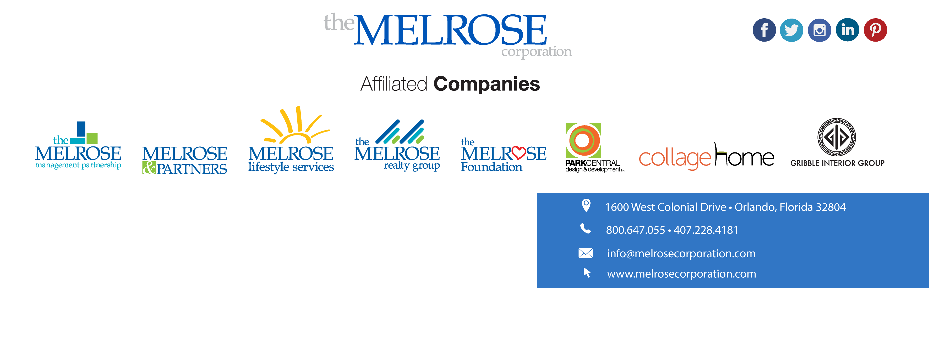 Melrose Foundation Cover